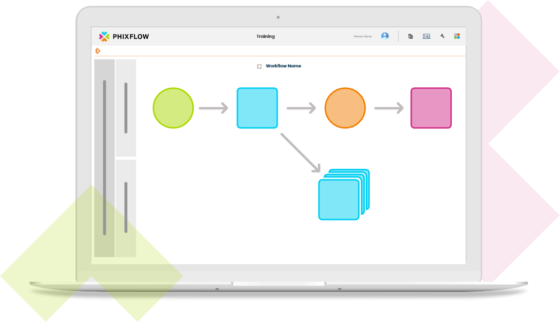 Create workflows and automation with PhixFlow