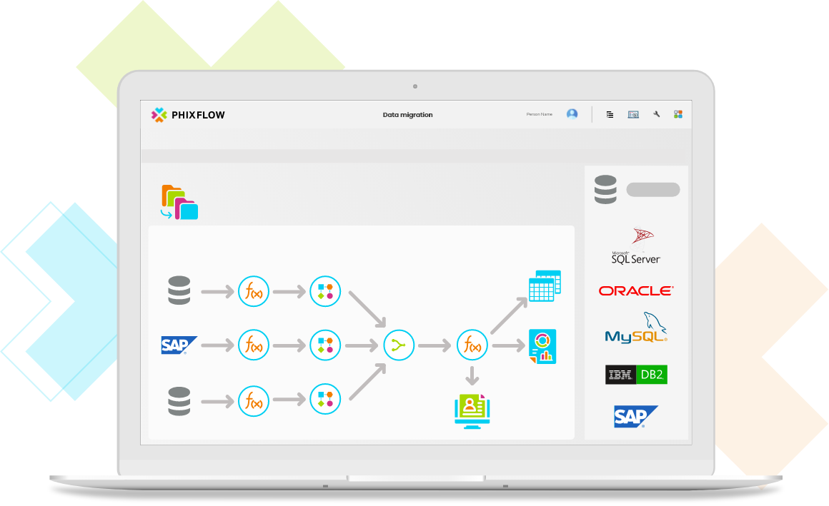 PhixFlow Low-Code Platform: Database Connectivity made easy